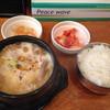 韓国料理 どやじ - 料理写真:牛もつ煮込み定食@820円