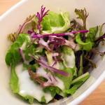 アロマティエ - ランチセットのサラダ