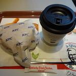 ケンタッキーフライドチキン - 料理写真:フレたまサンドセット:490円