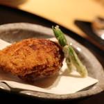 日本料理 徳 - オコゼの唐揚げ これは美味しかったです