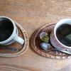 さいふおん - 料理写真:食事と同時で頼んだコーヒー‥左はブレンド・右はアメリカン