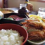 サンゴショウ - 海老フライ定食