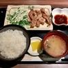まう - 料理写真:せせり焼き定食(700円)
