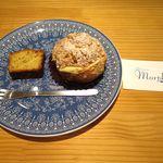 パティスリーモルフォ - ケーキとショップカード