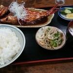 37378376 - 金目鯛の煮付け定食
