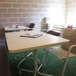 食堂カフェ potto - お店の内観
