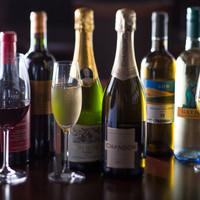 ワイン・ウィスキー・カクテルetc…様々なドリンクをご用意☆
