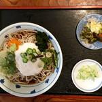 山菱屋 - とろろ蕎麦(冷)¥650