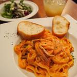 Bliss CAFE&RESTAURANT - ワタリガニのトマトクリーム