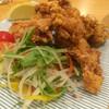八島 - 料理写真:知床産地鶏の米粉揚げ