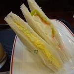 カフェ・ベローチェ - 玉子ポテト野菜ミックス:220円