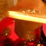 老松 - 氷水に入って冷え冷えのわらび餅」
