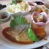 和みかふぇ もくてきち  - 料理写真:さばの味噌煮のアップ