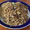 味助 - 料理写真:細麺焼きそば(中)