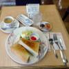 東京風月堂 - 料理写真:モーニングトーストセット540円