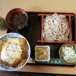 味奈登庵 - 料理写真:2014'8/16  かつ丼セツト