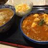 満州飯店 - 料理写真:マーボ飯セット