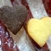 フェルマータ - 料理写真:焼きたてのハートクッキー