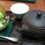 37461857 - ほうじ茶とアイス