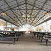 佐倉きのこ園 - 内観写真:屋根付きバーベキューガーデン