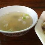 北京亭 - ランチスープ