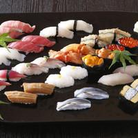 築地で50年。伝統を守る江戸前寿司。