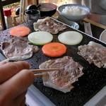 民芸茶屋 清水 - イノブタ焼肉