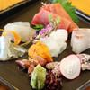 ジャパニーズスタイルレストラン 寛 - 料理写真:刺身盛り合わせ!是非ご賞味下さい♪