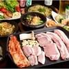 とんとん島 - 料理写真:サムギョプサルコース2時間飲み放題付3,980円