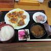 山里 - 料理写真:鹿フライ定食