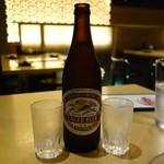 とりまる - 瓶ビール(580円)