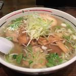 麺厨房あじさい - 塩チャーシュー ¥1,050