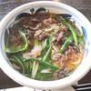 むさし - 料理写真:肉うどん