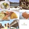 内浦漁業協同組合 - 料理写真:漁港のお祭りに来ました(❃´◡`❃)  活あじ丼、アジフライ、アジはんぺん、大漁鍋をいただきました〜  地魚最強(。´・∀・)b