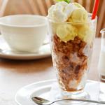 ロージーティーハウス - 料理写真:夏期限定。アイスキャラメルドルチェ。