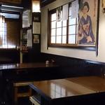 奈加山 - 奈加山 @青山一丁目 いい工合に枯れた落ち着く店内