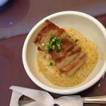 中華料理 五行山 - 半角煮チャーハン