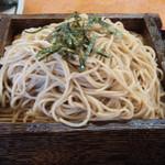 七里茶屋 - ざるそば中盛