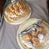 カフェ・リベロ - 料理写真:ワッフルとアップルパイ
