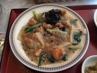 コーボカルド - メインの鶏肉の豆鼓炒煮
