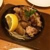 SAKABAR やなが - 料理写真:鶏の鉄板焼き