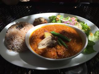 阿里山cafe - 豆の季節の野菜のカレー