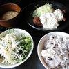 しゃぶしゃぶ剛 - 料理写真:タルタル鶏唐揚げ定食
