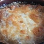 壺屋 - オニオングラタンスープ