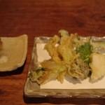 花菜 - 春野菜の天ぷら(2015/05)