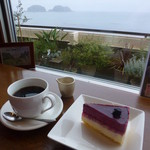 カフェ・ド・マンマ - ケーキセット 680円