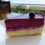 カフェ・ド・マンマ - ラズベリーチーズケーキ