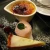 Sucre - 料理写真:デザート盛合せ:シュクレ名物クリームブリュレ