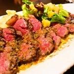 ファッティーズ - 2015/May 和牛ステーキ・エシャレットバターソース