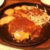 スパイシードラゴン - 料理写真:ダブルチーズハンバーグ150g